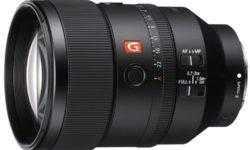 Объектив Sony 135mm F1.8 G Master Prime рассчитан на полнокадровые камеры