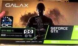Опубликованы фотографии упаковки Galax GeForce GTX 1660 Ti