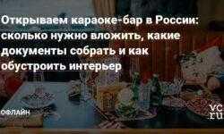 Открываем караоке-бар в России: сколько нужно вложить, какие документы собрать и как обустроить интерьер