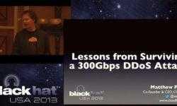 [Перевод] Конференция BLACK HAT. Уроки выживания при DDOS-атаке 300 Гбит / с. Часть 1
