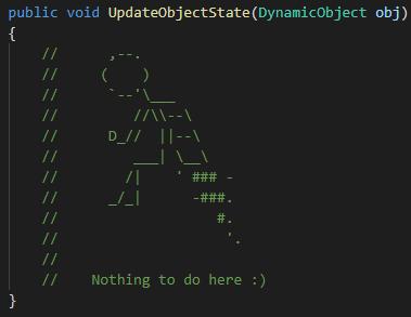 Фото [Перевод] Объясняем код с помощью ASCII-арта