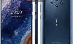 Пресс-рендеры Nokia 9 PureView: безумное количество камер и сканер отпечатков под дисплеем