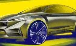 Škoda Vision iV: будущее электрических автомобилей