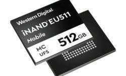 В ожидании 5G: Western Digital начала поставки образцов 512-Гбайт накопителей UFS 3.0