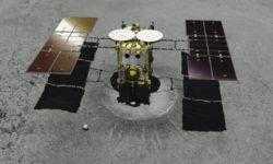 Японский зонд Hayabusa 2 соприкоснулся с астероидом Рюгу