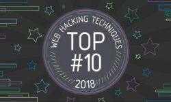 10 лучших техник веб-хакинга 2018
