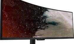 Acer EI491CR: огромный изогнутый монитор формата 4К с поддержкой HDR