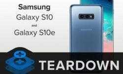 Что скрывает Galaxy S10: ремонтопригодность смартфона оценена «на троечку»
