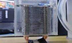 Энтузиаст создал эффективный «водоблок» из обычного башенного радиатора