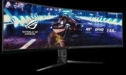 Игровой монитор ASUS ROG Strix XG49VQ обойдётся в 1300 долларов США