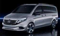 Mercedes-Benz Concept EQV: микроавтобус премиум-класса на электротяге