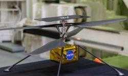 NASA успешно протестировало марсианский вертолет в камере с углекислым газом