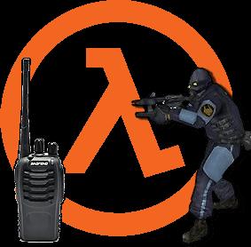 Фото Ностальгия по Half Life — создаем приставку для радиостанции для получения голоса и звука окончания в стиле комбайнов