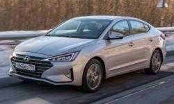 Обновлённый седан Hyundai Elantra дебютировал в России по цене от 1 049 000 рублей