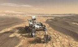 Первый тест нового марсохода NASA завершился успешно