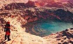 Реки на Марсе были гораздо шире и мощнее, чем на Земле