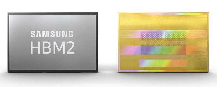 Фото Samsung представила быстрые и ёмкие стеки памяти HBM2E