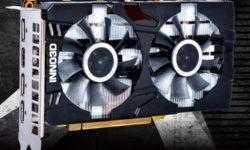 Ускоритель Inno3D GeForce GTX 1660 Twin X2 имеет длину менее 200 мм