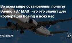 Во всем мире остановлены полёты Boeing 737 MAX: что это значит для корпорации Boeing и всех нас