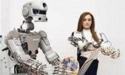 Антропоморфный робот «Фёдор» обучается навыкам мелкой моторики