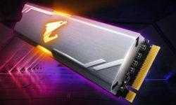 Aorus RGB M.2 NVMe SSD: быстрые накопители ёмкостью до 512 Гбайт