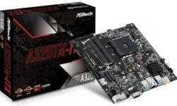 ASRock A320TM-ITX: материнская плата редкого форм-фактора Thin Mini-ITX для процессоров AMD