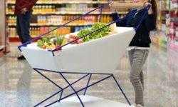 Ford снабдила средствами автоматического торможения тележку для супермаркетов