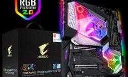 Gigabyte решила комплектовать плату Z390 Aorus Xtreme Waterforce разогнанным Core i9-9900K