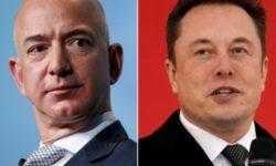 Илон Маск потроллил главу Amazon в Твиттере в связи с проектом запуска спутников