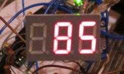 Ненормативная схемотехника: семисегментный индикатор на ATtiny13
