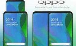 Oppo зарегистрировала безумный патент смартфона с выдвижным экраном