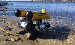 Подводный GPS на подводном роботе: опыт использования