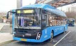 Популярность электробусов в Москве растёт