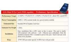 Представлен ASIC майнер Innosilicon G32 Grin: в 10 раз лучше, чем на видеокартах