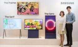 Samsung Sero: ТВ-панель для просмотра «вертикального» контента