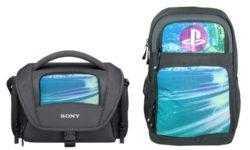 Sony предлагает вшивать гибкие дисплеи в сумки и рюкзаки