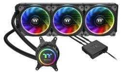 СЖО Thermaltake Floe Riing RGB 360 TR4 Edition рассчитана на процессоры AMD