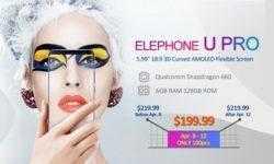 "В Coolicool стартовали продажи 5,99"" смартфона Elephone U PRO 4G со скидкой 26 %"