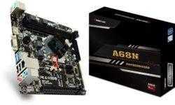 В оснащение платы Biostar A68N-5600E вошёл гибридный процессор AMD A4