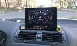 Хакаем CAN шину авто. Виртуальная панель приборов