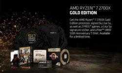 Юбилейный AMD Ryzen 7 2700X поставляется с двумя играми и футболкой