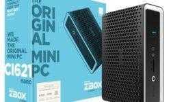 Zotac ZBox CI621 nano: неттоп с процессором Intel Whiskey Lake