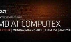 AMD будет вести прямую трансляцию с открытия Computex 2019
