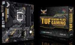ASUS TUF B365M-Plus Gaming: компактная плата с поддержкой Wi-Fi