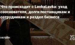 Что происходит с LavkaLavka: уход сооснователя, долги поставщикам и сотрудникам и раздел бизнеса
