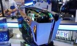 Computex 2019: компьютерный корпус открытого типа FSP CMT710