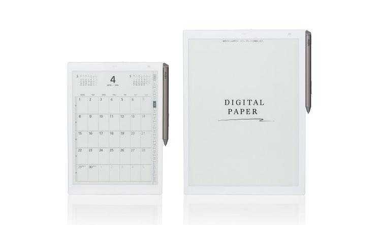 Электронные блокноты Fujitsu (в оригинале - Sony)