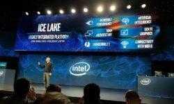 Intel представила десятое поколение процессоров Ice Lake 10 нм