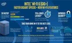 Intel ускоряет внедрение Wi-Fi 6 (Gig+) в ПК и маршрутизаторах