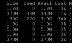[Из песочницы] Как быстро увеличить размер раздела диска на сервере